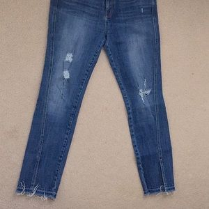 Parker smith high end distressed jeans size 29